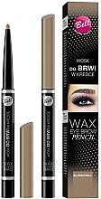 Parfüm, Parfüméria, kozmetikum Szemöldök zselé ceruza - Bell Wax Eye Brow Pencil