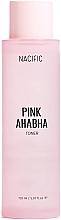 Parfüm, Parfüméria, kozmetikum Arctonik görögdinnye kivonattal, AHA és BHA savakkal - Nacific Pink AHA BHA Toner