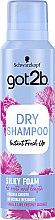 """Parfüm, Parfüméria, kozmetikum Száraz sampon-mousse """"Selymes dúsítás"""" - Schwarzkopf Got2b Fresh it Up! Dry Shampoo Silky Foam"""