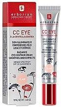 Parfüm, Parfüméria, kozmetikum Szemkörnyékápoló CC-krém - Erborian Finish CC Eye Cream