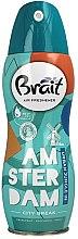 """Parfüm, Parfüméria, kozmetikum Légfrissítő """"City Break -Amsterdam"""" - Brait Dry Air"""