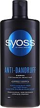 Parfüm, Parfüméria, kozmetikum Sampon korpásodásra hajlamos hajra - Syoss Anti-Dandruff Centella Asiatica Shampoo