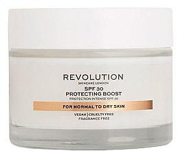 Parfüm, Parfüméria, kozmetikum Hidratáló krém száraz bőrre - Revolution Skincare Protecting Boost SPF30