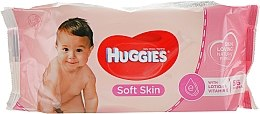 Parfüm, Parfüméria, kozmetikum Gyerek nedves törlőkendő Soft Skin, 56db - Huggies