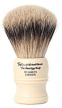 Parfüm, Parfüméria, kozmetikum Borotva pamacs, SH3 - Taylor of Old Bond Street Shaving Brush Super Badger Size L