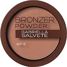 Parfüm, Parfüméria, kozmetikum Bronzosító púder - Gabriella Salvete Bronzer Powder SPF15