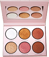 Parfüm, Parfüméria, kozmetikum Highlighter paletta - LP Makeup L'Essentiel Paper Highlight Palette