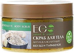 """Parfüm, Parfüméria, kozmetikum Só peeling """"Narancsbőr ellen"""" - ECO Laboratorie Natural & Organic Anticellulite Body Scrub"""