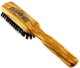 Parfüm, Parfüméria, kozmetikum Szakállkefe, 20 cm - Golden Beards Beard Brush
