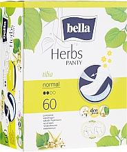 Parfüm, Parfüméria, kozmetikum Egészségügyi betét Panty Herbs Tilia, 60db - Bella