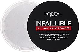 Parfüm, Parfüméria, kozmetikum Fixáló por púder - L'Oreal Paris Infallible Magic Loose Powder