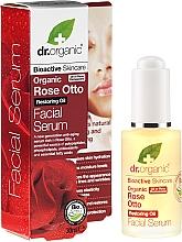 """Parfüm, Parfüméria, kozmetikum Arcszérum """"Rózsa"""" - Dr. Organic Rose Facial Serum"""