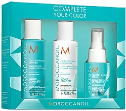 Parfüm, Parfüméria, kozmetikum Szett - Moroccanoil Travel Kit Color Complete (shm/70ml + cond/70ml  + spray/50ml)