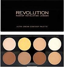 Parfüm, Parfüméria, kozmetikum Korrektor - Makeup Revolution Ultra Cream Contour Palette