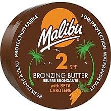 Parfüm, Parfüméria, kozmetikum Testápoló olaj bronzosító hatással - Malibu Bronzing Body Butter SPF 2