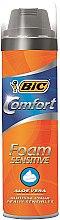Parfüm, Parfüméria, kozmetikum Borotva hab - Bic Comfort Foam Sensitive