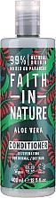 """Parfüm, Parfüméria, kozmetikum Hajkondicionáló normál és száraz hajra """"Aloe vera"""" - Faith In Nature Aloe Vera Conditioner"""