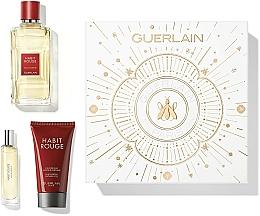 Parfüm, Parfüméria, kozmetikum Guerlain Habit Rouge - Szett (edt/100ml + sh/gel/75ml + edt/10ml)