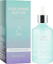 Parfüm, Parfüméria, kozmetikum Hidratáló szérum hialuronsavval - FarmStay Hyaluronic Acid 100 Ampoule