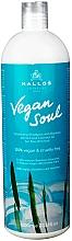 Parfüm, Parfüméria, kozmetikum Volumen növelő sampon bambusz kivonattal és kókuszolajjal - Kallos Cosmetics KJMN Vegan Soul Volumizing Shampoo