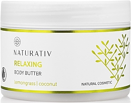 Parfüm, Parfüméria, kozmetikum Testvaj puhító hatással - Naturativ Relaxing Body Butter Lemongrass