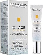 Parfüm, Parfüméria, kozmetikum Koncentrált szemkrém a ráncok ellen - Dermedic Oilage Concentrated Anti-Wrinkle Eye Cream