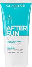 Parfüm, Parfüméria, kozmetikum Tisztító tusfürdő 2az1 - Clarins After Sun Shower Gel Tube