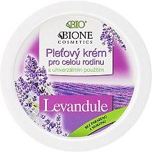 "Parfüm, Parfüméria, kozmetikum Arckrém ""Levendula"" - Bione Cosmetics Lavender Facial Cream Whole Family"