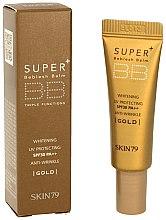 Parfüm, Parfüméria, kozmetikum BB krém - Skin79 Super Plus Beblesh Balm SPF 30 PA++ (Gold) (mini)