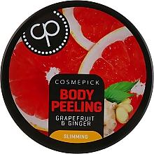 Parfüm, Parfüméria, kozmetikum Cukor peeling testre grapefruit és gyömbér illattal - Cosmepick Body Peeling Grapefruit & Ginger