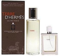 Parfüm, Parfüméria, kozmetikum Hermes Terre d'Hermes Eau Tres Fraiche - Szett (edt/125ml + edt/30ml)