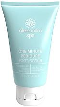 Parfüm, Parfüméria, kozmetikum Peeling lábra és talpra - Alessandro International Spa One Minute Pedicure Foot Scrub