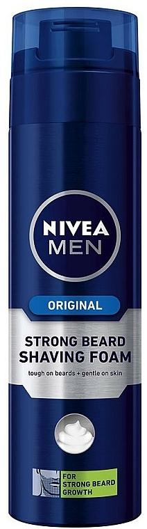 """Borotvahab """"Merev sörték"""" - Nivea For Men Strong Beard Shaving Foam — fotó N1"""