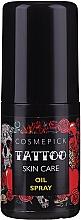 Parfüm, Parfüméria, kozmetikum Tetoválás ápoló olaj - Cosmepick Tattoo Skin Care Oil Spray