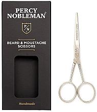 Parfüm, Parfüméria, kozmetikum Szakáll- és bajuszvágó olló - Percy Nobleman Beard & Moustache Scissors