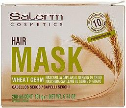Parfüm, Parfüméria, kozmetikum Tápláló Hajmaszk Wheat Germ - Salerm Mascarilla Capilar