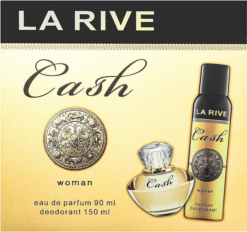 La Rive Cash Woman - Szett (edp/90ml + deo/150ml)