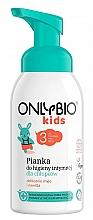 Parfüm, Parfüméria, kozmetikum Hab intim higiéniához 3 éves kor feletti kisfiúknak  - Only Bio Foam For Intimate Hygiene For Boys