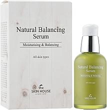 Parfüm, Parfüméria, kozmetikum Bőrkiegyensúlyozó szérum - The Skin House Natural Balancing Serum