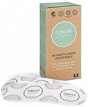 Parfüm, Parfüméria, kozmetikum Tisztasági rugalmas betét, 30 db - Ginger Organic