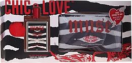 Parfüm, Parfüméria, kozmetikum Chic&Love Muse - Szett (edt/100ml + bag)