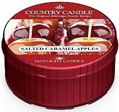 """Parfüm, Parfüméria, kozmetikum Teamécses """"Sós karamellás alma"""" - Country Candle Salted Caramel Apple Daylight"""