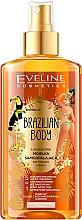Parfüm, Parfüméria, kozmetikum Önbarnító hatású testolaj - Eveline Cosmetics Brazilian Mist Face & Body