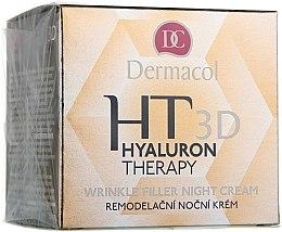 Parfüm, Parfüméria, kozmetikum Éjszakai arckrém hialuronsavval - Dermacol Hyaluron Therapy 3D Wrinkle Night Filler Cream