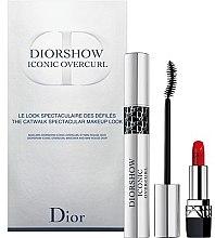 Parfüm, Parfüméria, kozmetikum Szett - Dior Diorshow Iconic Overcurl Gift Set (mascara/10ml+lip/stick/1,5g)