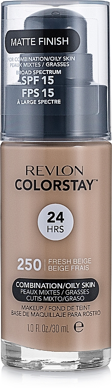 Alapozó krém - Revlon ColorStay for Combination/Oily Skin SPF 15