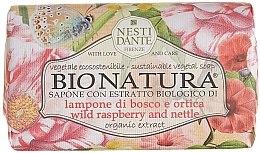 """Parfüm, Parfüméria, kozmetikum Szappan """"Málna és csalán"""" - Nesti Dante Bio Natura Bush Raspberry & Nettle Soap"""