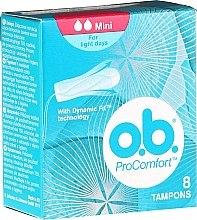 Parfüm, Parfüméria, kozmetikum Tampon, 8 db - O.b. ProComfort Mini Dynamic Fit Tampons