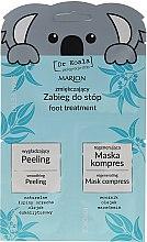 """Parfüm, Parfüméria, kozmetikum Készlet """"Lábpuhítás"""" - Marion Dr Koala (foot peeling/6,5ml + foot/mask/6ml)"""