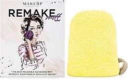 """Parfüm, Parfüméria, kozmetikum Sminkeltávolító kesztyű """"ReMake"""", sárga - MakeUp"""
